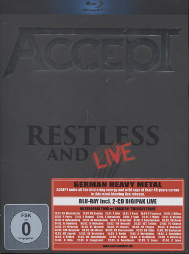 RESTLESS AND LIVE (2CD+BLURAY)